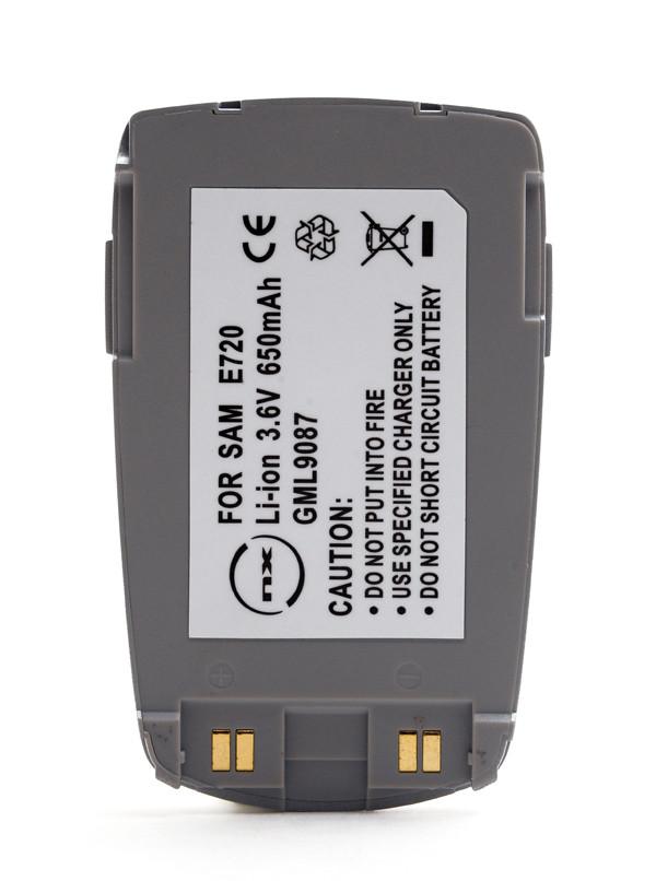 Mobile phone, PDA battery 3,7V 700mAh for Samsung SGH-E720