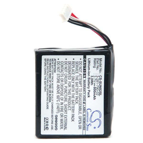 GPS battery 3,7V 800mAh for Sony NV-U73T