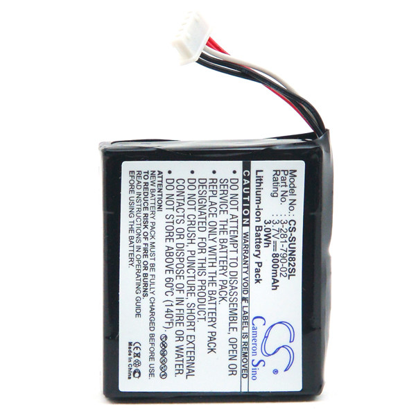 GPS battery 3,7V 800mAh for Sony NV-U93T