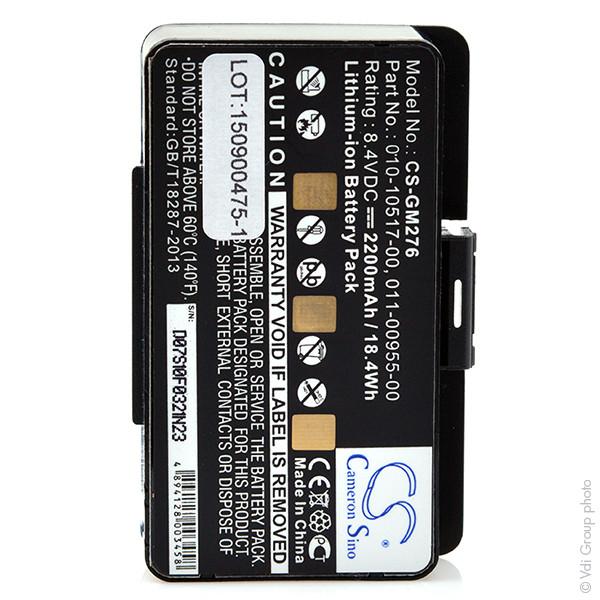 GPS battery 8,4V 2200mAh for Garmin GPSMAP 276C