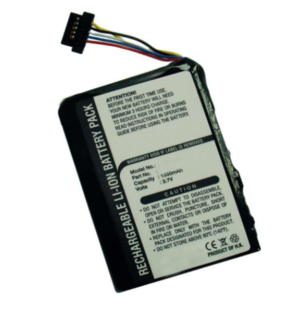 GPS battery 3,7V 1500mAh for Navman ICN550
