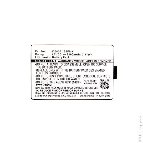 GPS battery 3,7V 2100mAh for VDO Dayton PN4000-TSN