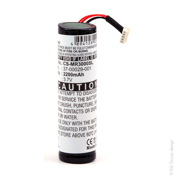GPS battery 3,7V 2200mAh for Magellan RoadMate 3050T
