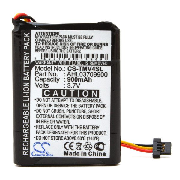 GPS battery 3,7V 900mAh for TomTom One V4 Classic
