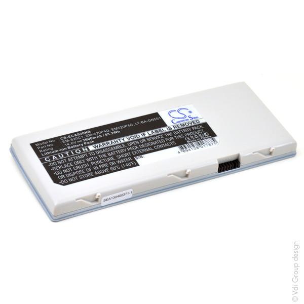 Laptop battery 14,8V 3600mAh for ECS G 553