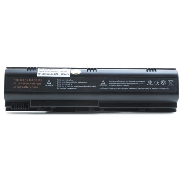 Laptop battery 11,1V 4600mAh for Dell Inspiron 1300