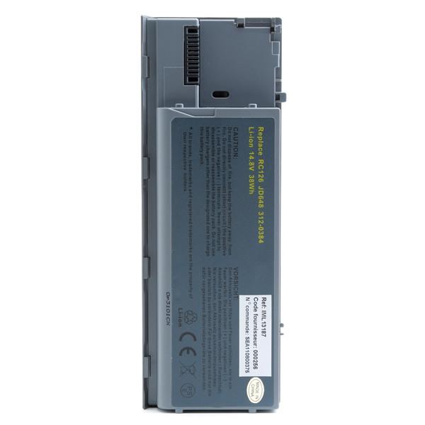 Laptop battery 14,8V 2600mAh for Dell Latitude D630c