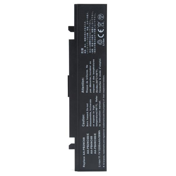 Laptop battery 11,1V 5200mAh for Samsung R45 1730 Cutama
