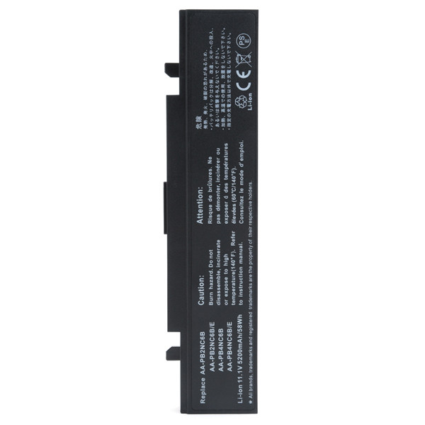 Laptop battery 11,1V 5200mAh for Samsung R60 Plus