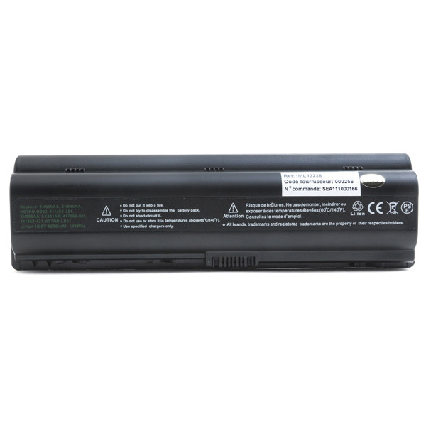Laptop battery 10,8V 9200mAh for HP Compaq Pavilion DV6-620EF