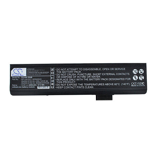 Laptop battery 10,8V 4400mAh for Fujitsu Siemens Amilo PA2548-P5810