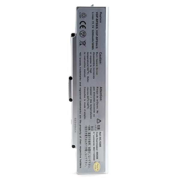 Laptop battery 11,1V 5200mAh for Sony Vaio CR19XN/B