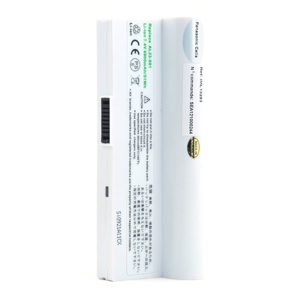 Laptop battery 7,4V 6900mAh for Asus Eee PC 904HD