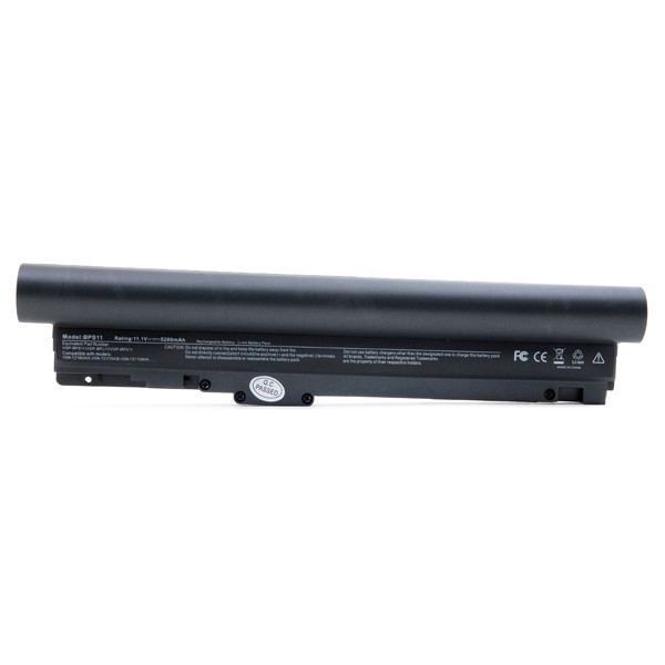 Laptop battery 11,1V 5200mAh for Sony Vaio VGN-TZ18GN/X