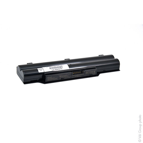 Laptop battery 10,8V 5200mAh for Fujitsu Siemens LifeBook E751/C