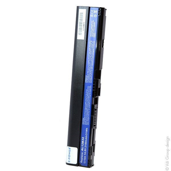 Laptop battery 14,8V 2100mAh for Acer Aspire One 725-0688