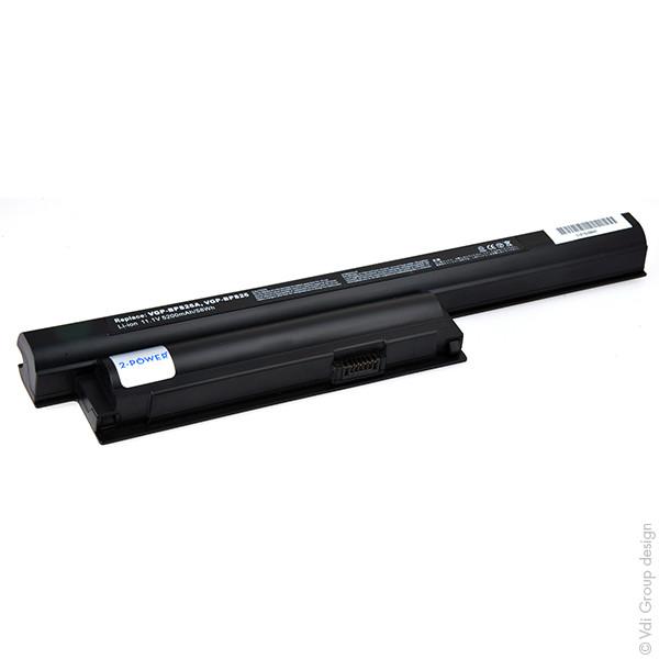 Laptop battery 11,1V 5200mAh for Sony Vaio VPC-EH3M1E