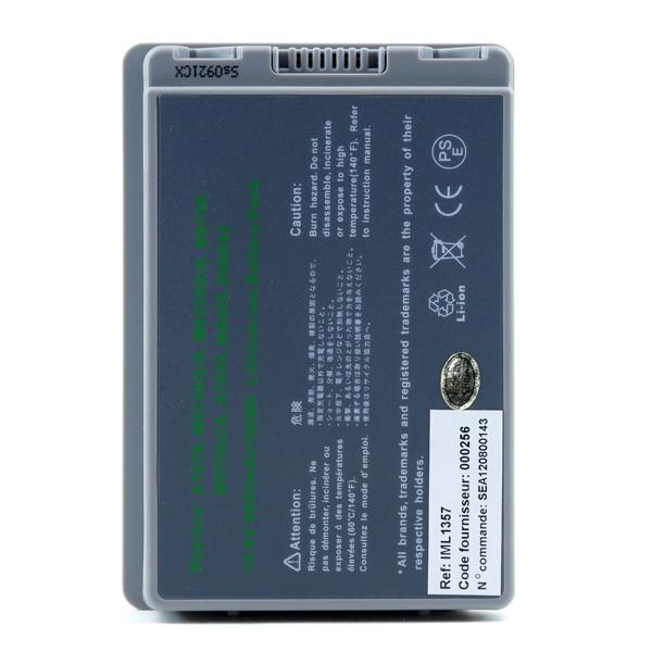 Laptop battery 10,8V 4600mAh for Apple PowerBook G4 M9969B/A