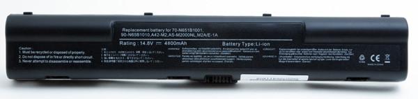 Laptop battery 14,8V 4400mAh for Asus M 2400E