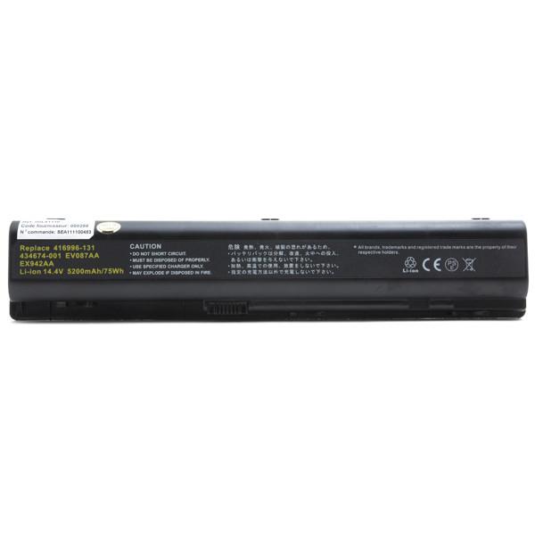 Laptop battery 14,4V 5200mAh for HP Compaq Pavilion DV9056EA