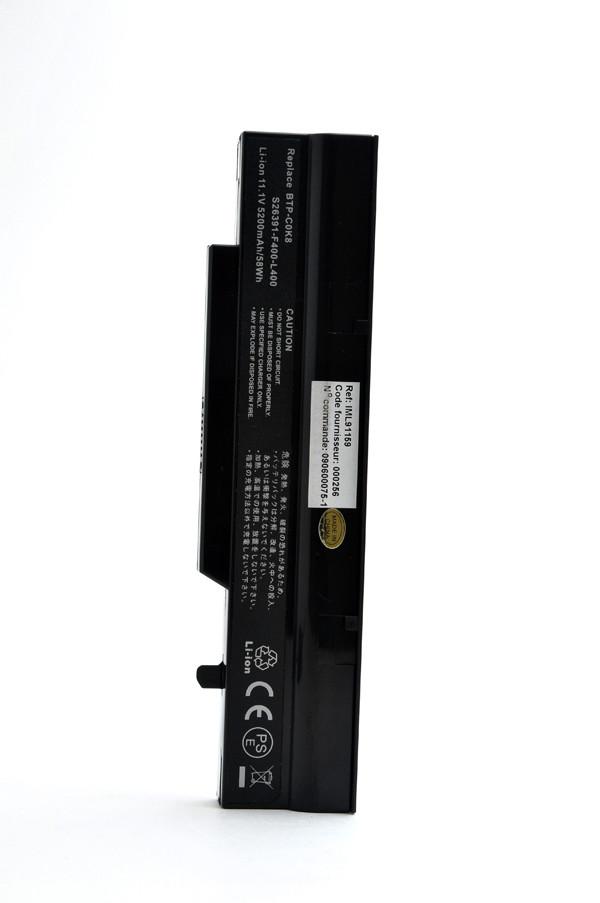 Laptop battery 11,1V 5200mAh for Fujitsu Siemens Esprimo Mobile V6535