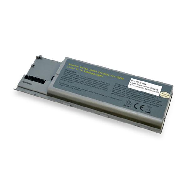 Laptop battery 11,1V 5200mAh for Dell Latitude D630