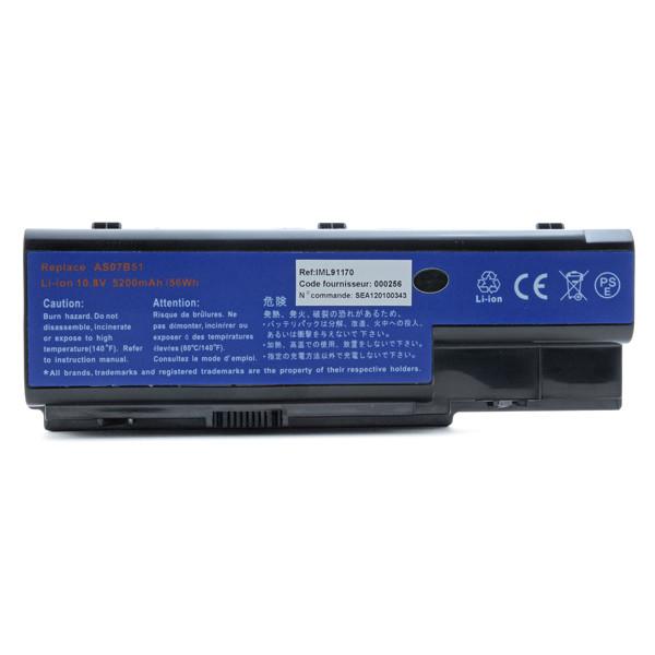 Laptop battery 10,8V 5200mAh for Acer Aspire 5315 Series