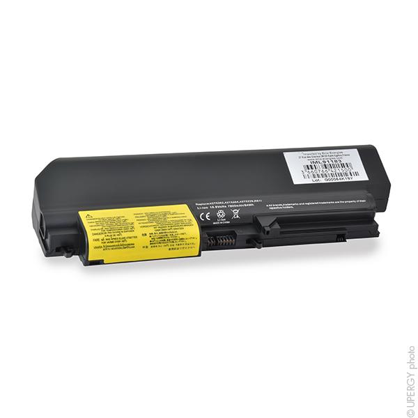 Laptop battery 10,8V 7800mAh for IBM Lenovo ThinkPad T61 7659