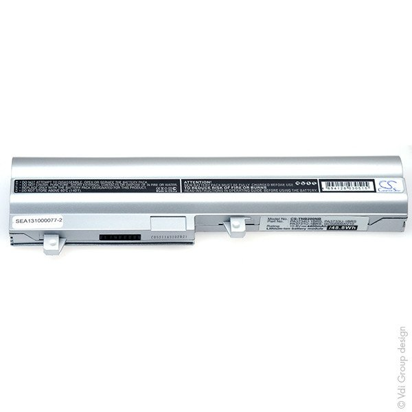 Laptop battery 10,8V 4400mAh for Toshiba NB NB250-108