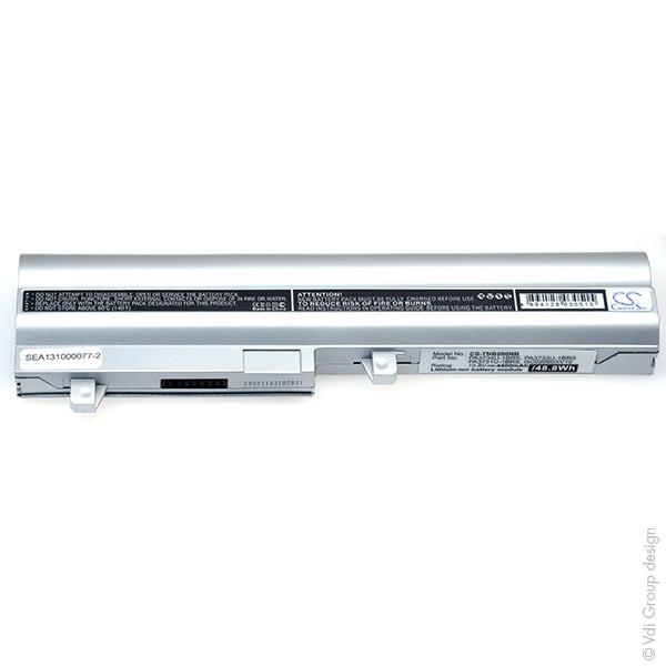 Laptop battery 10,8V 4400mAh for Toshiba NB NB250-10G