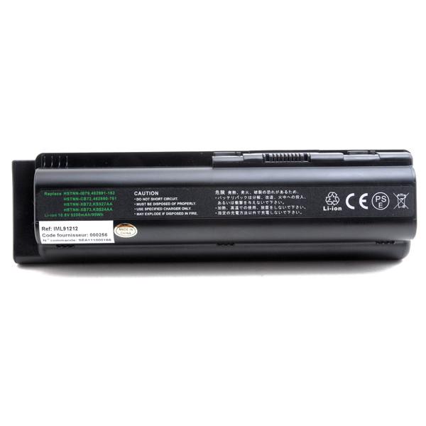 Laptop battery 10,8V 9200mAh for HP Compaq Pavilion DV6-2159TX