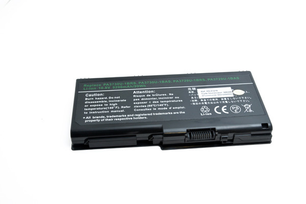 Laptop battery 10,8V 9200mAh for Toshiba Qosmio X500-149