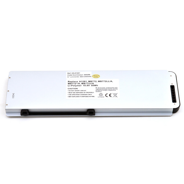 Laptop battery 10,8V 4600mAh for Apple MacBook Pro 15