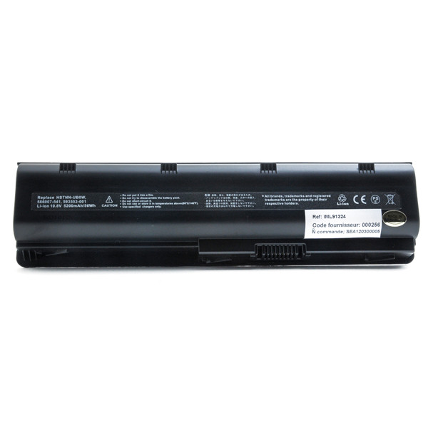 Laptop battery 10,8V 5200mAh for HP Compaq G 62-b13SA