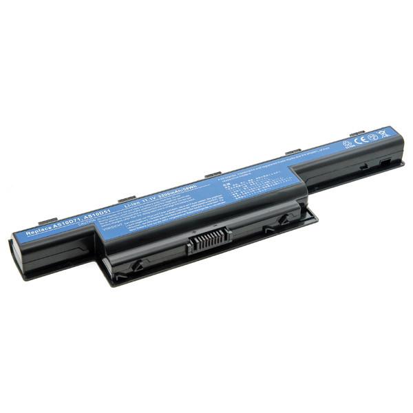 Laptop battery 11,1V 5200mAh for Acer Aspire AS5741-334G32Mn