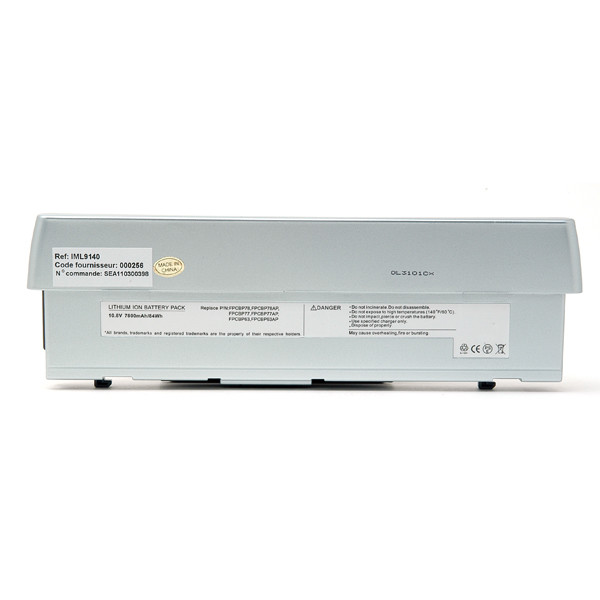 Laptop battery 10,8V 6900mAh for Fujitsu Siemens Stylistic ST5022D