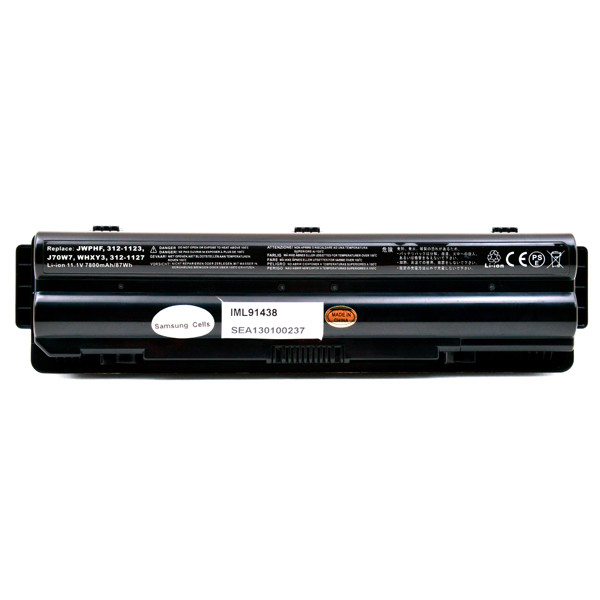 Laptop battery 11,1V 7800mAh for Dell XPS 15 L501X