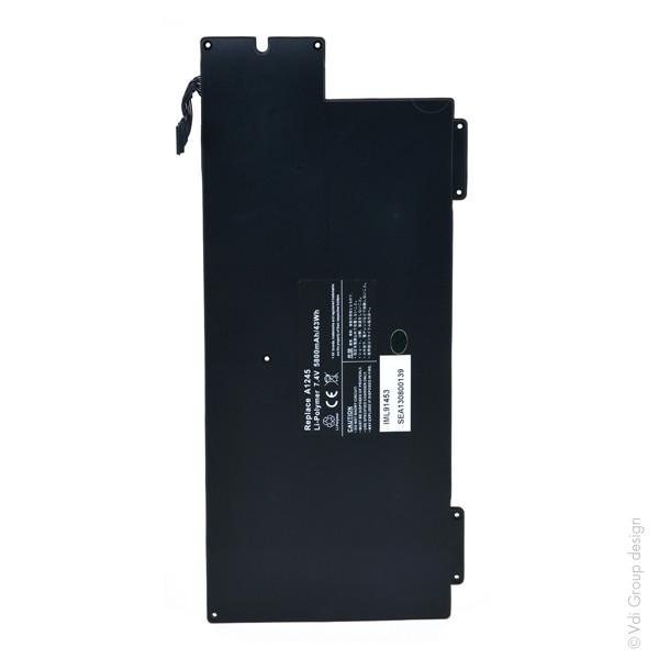 Laptop battery 7,4V 5800mAh for Apple MacBook Air 13