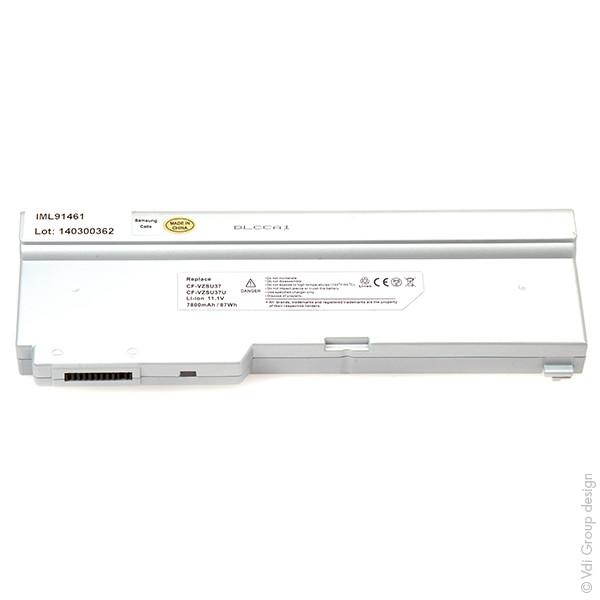 Laptop battery 11,1V 7800mAh for Panasonic ToughBook T5