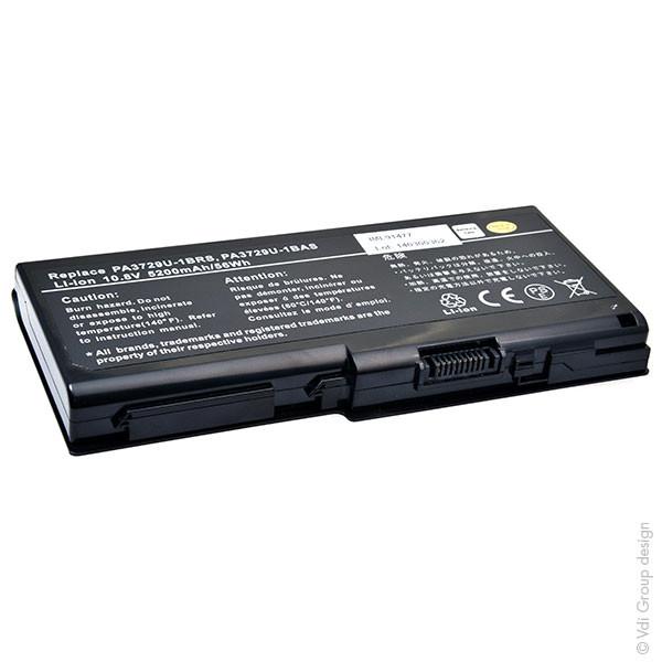 Laptop battery 10,8V 5200mAh for Toshiba Qosmio X505-Q830