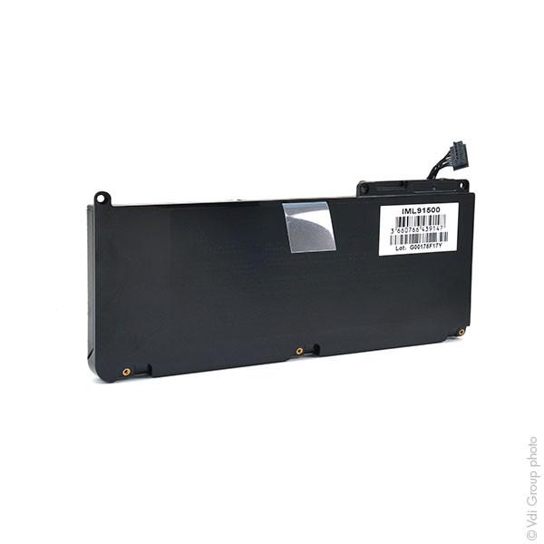 Laptop battery 10,95V 5400mAh for Apple MacBook Pro MC118LL/A 15.4