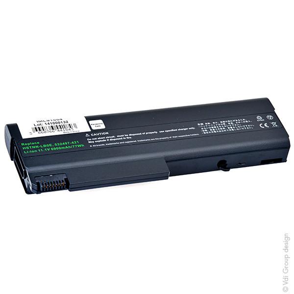 Laptop battery 11,1V 6900mAh for HP Compaq EliteBook 8440P