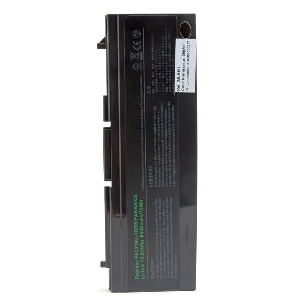 Laptop battery 10,8V 6600mAh for Toshiba Satellite 5200-711