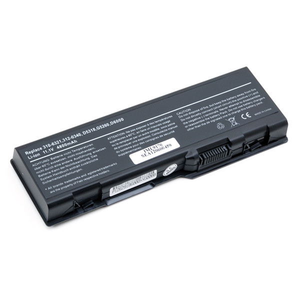 Laptop battery 11,1V 4800mAh for Dell Inspiron XPS M2010 Series