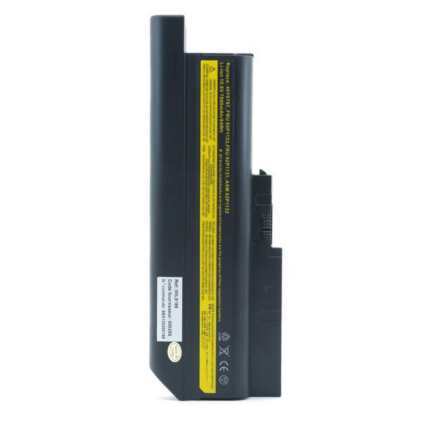 Laptop battery 10,8V 7800mAh for IBM Lenovo ThinkPad R60E 9456