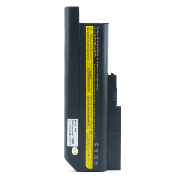 Laptop battery 10,8V 7800mAh for IBM Lenovo ThinkPad R60 9457