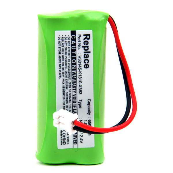 Cordless phone battery 2,4V 650mAh for Siemens Gigaset A245 Weib