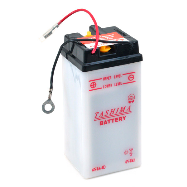 Motorbike, Scooter battery 6V 4Ah for Yamaha 50 TY 50 M 1G3 1978 - 1980