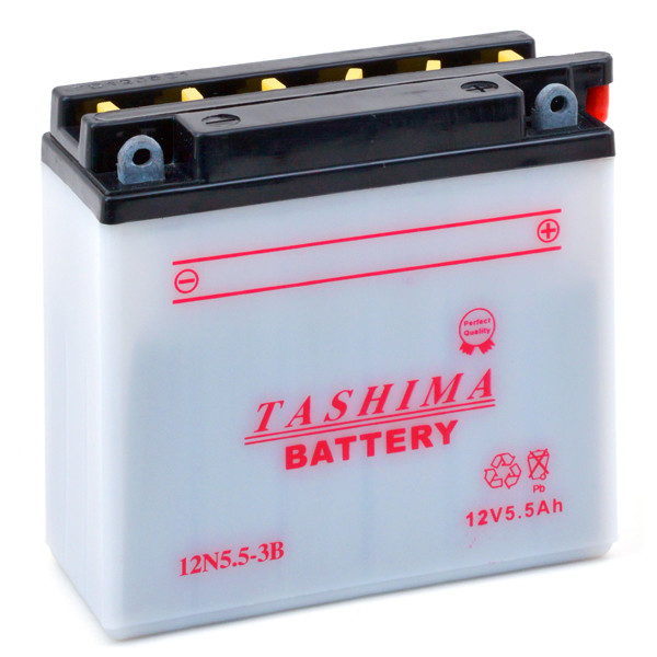 Motorbike, Scooter battery 12V 5,5Ah for Yamaha 125 YZF 125 R 5D7 2008 - 2011