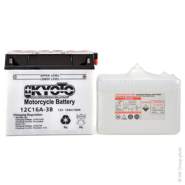 Motorbike, Scooter battery 12V 19Ah for BMW 850 R 850 RT (ABS) 2002 - 2006